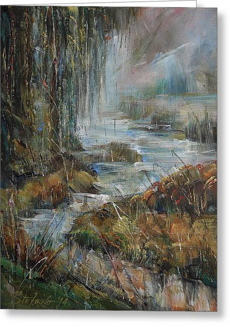 Along The River Greeting Card