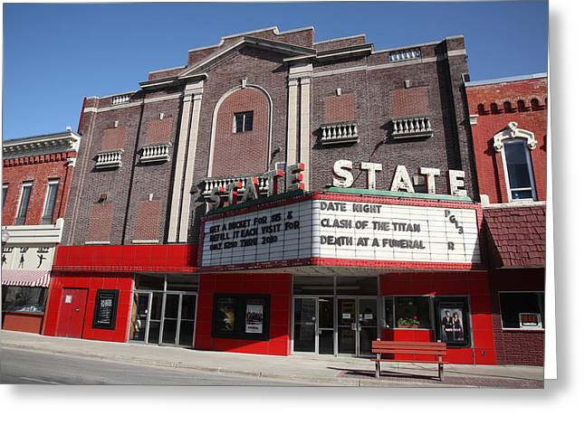 Alpena Michigan - State Theater Greeting Card