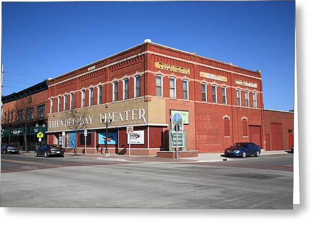 Alpena Michigan - Thunder Bay Theatre Greeting Card