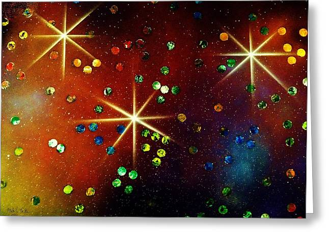 Alpha Centauri Greeting Card by Michael Rucker
