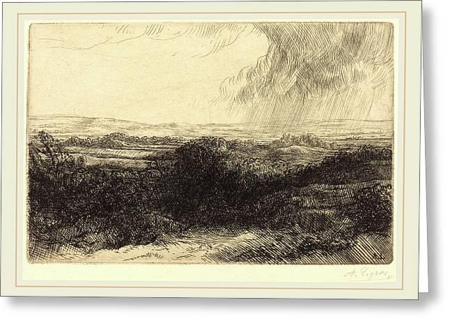 Alphonse Legros, Prospect Le Point De Vue Greeting Card