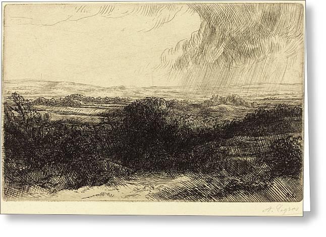 Alphonse Legros, Prospect Le Point De Vue Greeting Card by Quint Lox