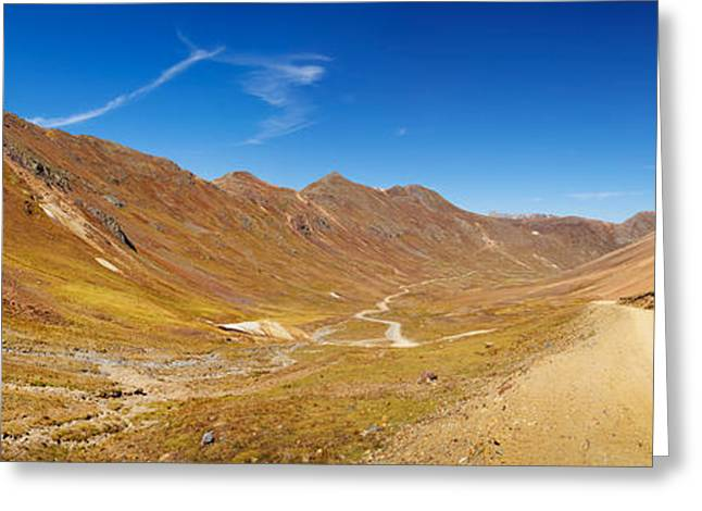 Alpine Loop Scenic Byway Passing Greeting Card