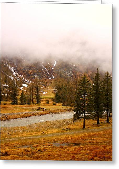 Alpine Mist Greeting Card