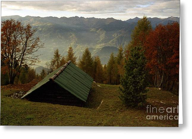 Alps Greeting Card by Candido Salghero