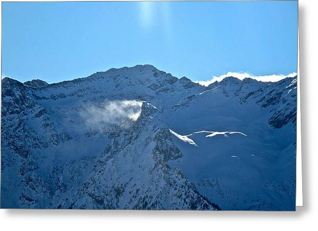 Alps In Sestrieres Greeting Card by Pierfrancesco Maria Rovere
