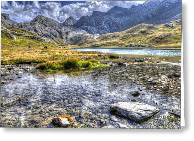 Alps Southern France Greeting Card by Seruddin Salleh