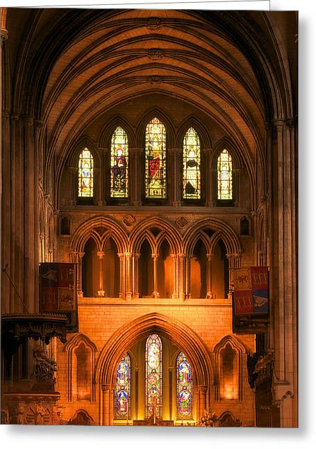 Altar Of St. Patrick's Cathedral Greeting Card