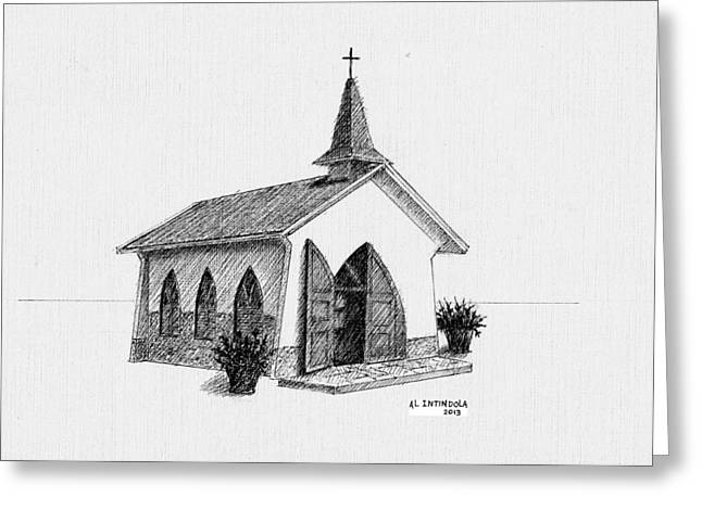 Alto Vista Chapel - Aruba Greeting Card
