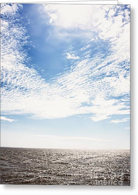 Altocumulus At Sea Greeting Card