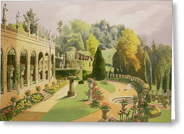 Alton Gardens Greeting Card