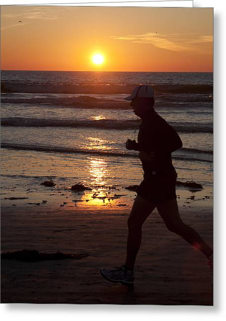 Greeting Card featuring the photograph Always A Runner by Nathan Rupert