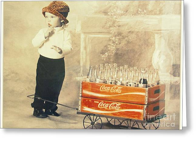 Always Coca- Cola Greeting Card by Irina Hays