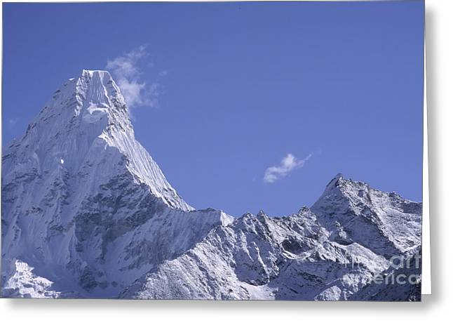 Ama Dablam Nepal Greeting Card by Rudi Prott