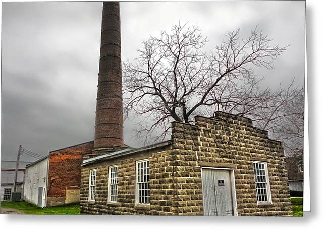 Amana Colonies Old Brewery - 01 Greeting Card by Gregory Dyer