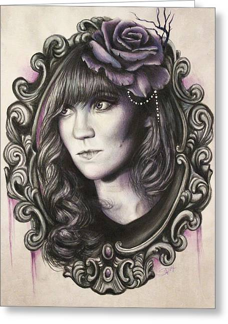 Amanda Denis - Tribute Portrait  Greeting Card