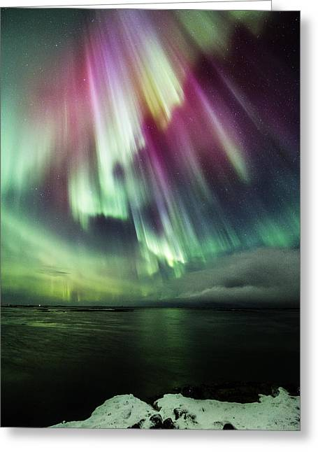 Amazing Auroras Greeting Card