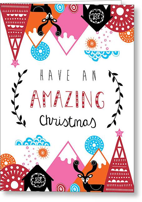 Amazing Christmas Greeting Card