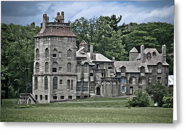 Amazing Fonthill Castle Greeting Card
