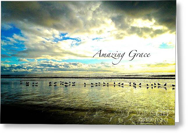 Greeting Card featuring the photograph Amazing Grace Sunrise 2 by Margie Amberge