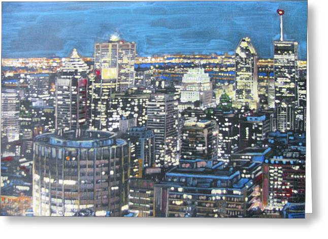 Amazing Montreal Greeting Card by Vikram Singh