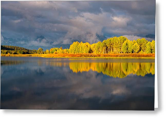 Amazing Morning Greeting Card by Joseph Rossbach