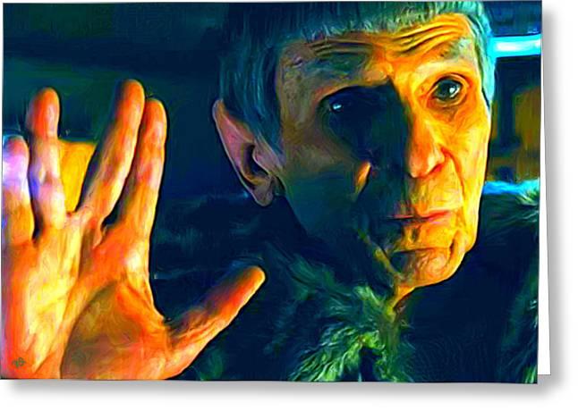 Ambassador Spock Greeting Card