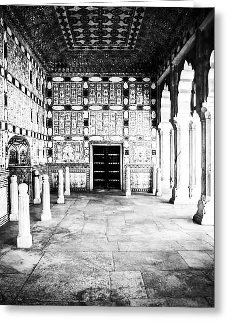 Amber Fort Jaipur Greeting Card