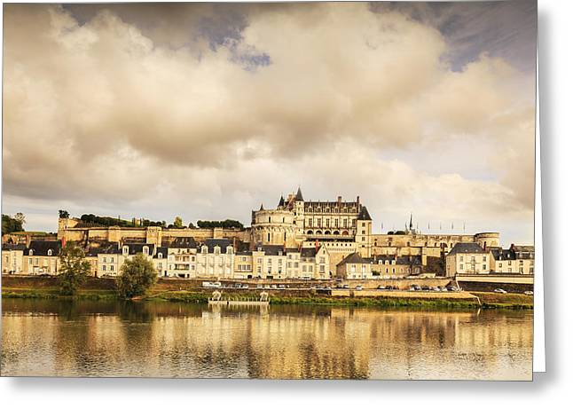 Amboise Loire Valley France Greeting Card by Colin and Linda McKie