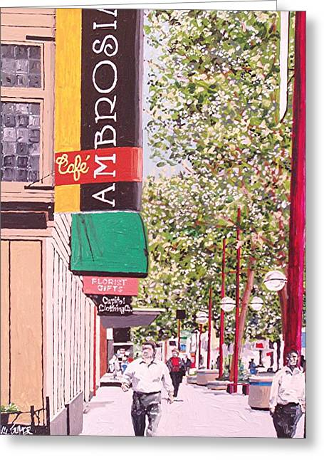 Ambrosia At Eleventh And K Greeting Card by Paul Guyer