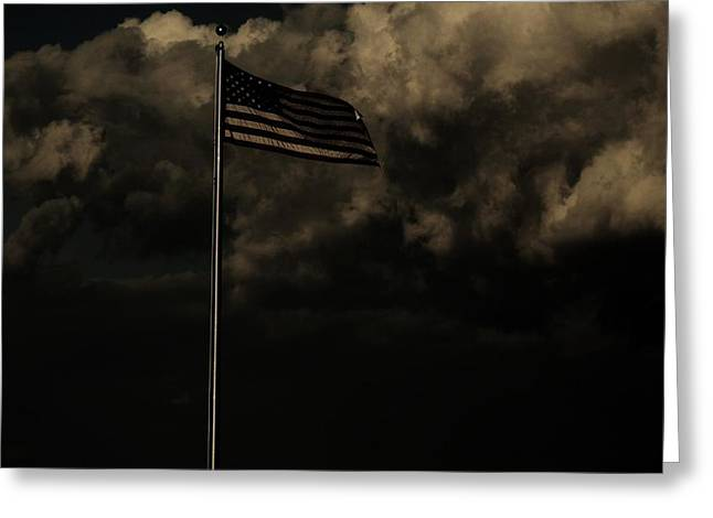 Greeting Card featuring the photograph America....... by Jessica Shelton