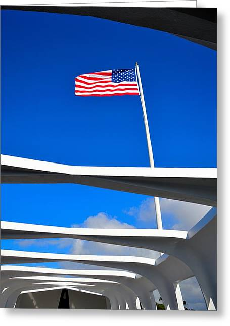 America Strong Greeting Card