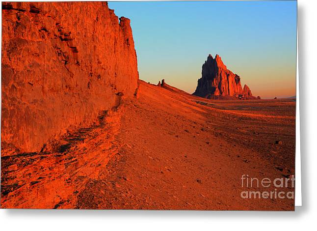 America The Beautiful New Mexico 1 Greeting Card by Bob Christopher