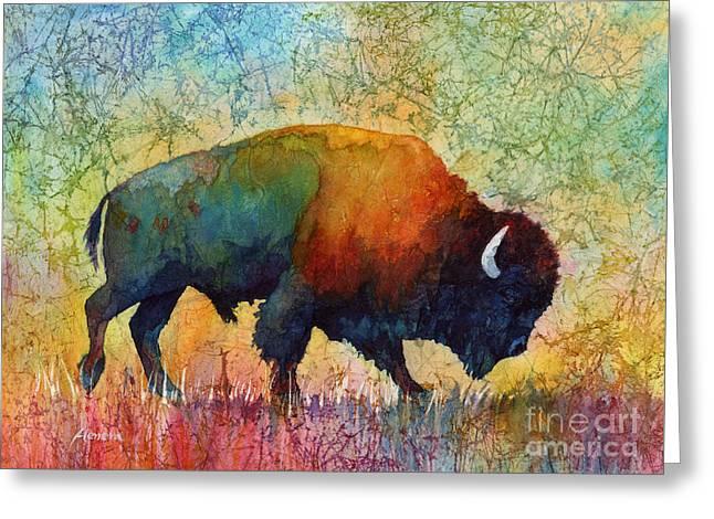 American Buffalo 4 Greeting Card
