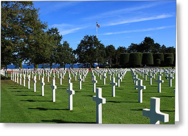 American Cemetery Normandy Greeting Card