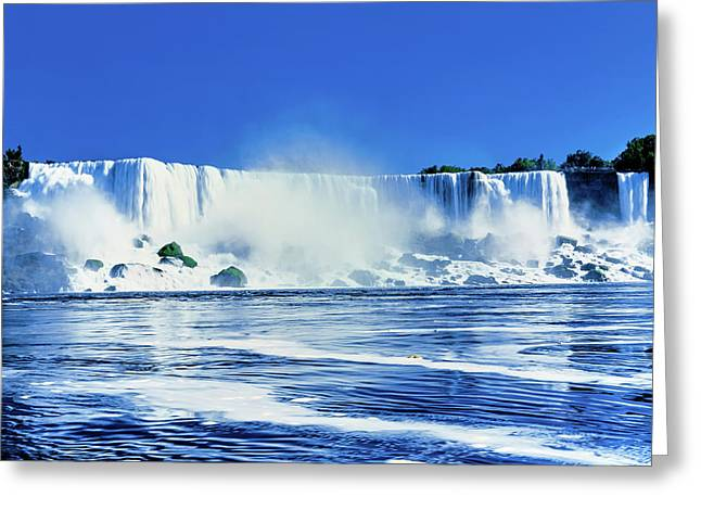 American Falls, Niagara River, New York Greeting Card