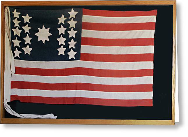 American Flag Of 1811 Greeting Card