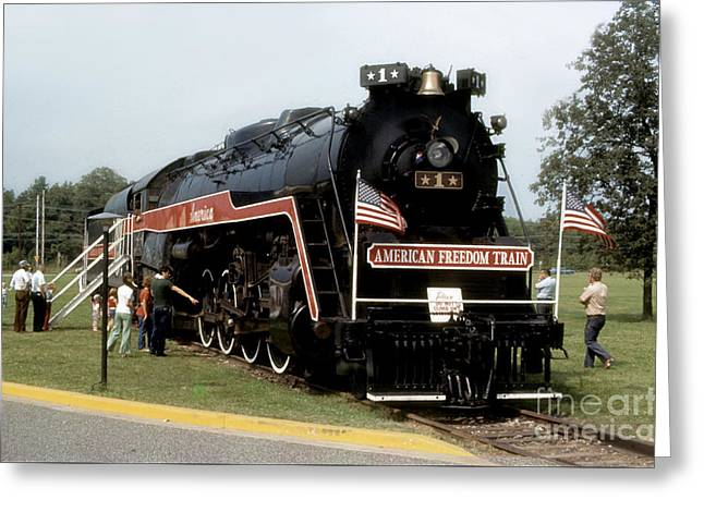 American Freedom Train - 1975 Greeting Card by ELDavis Photography