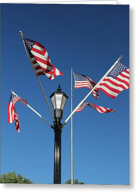 American Glory Greeting Card