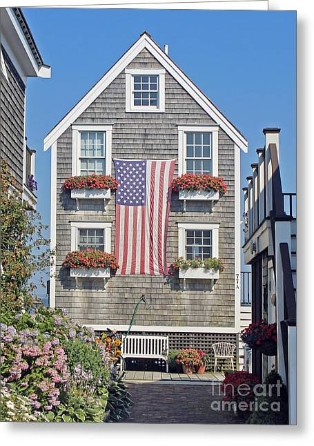 American Harbor House Greeting Card