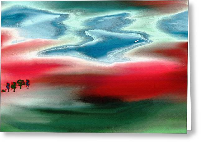 American Landscape Greeting Card