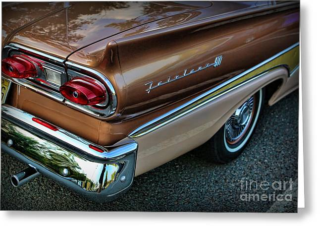 American Luxury - Ford Fairlane 500 Greeting Card