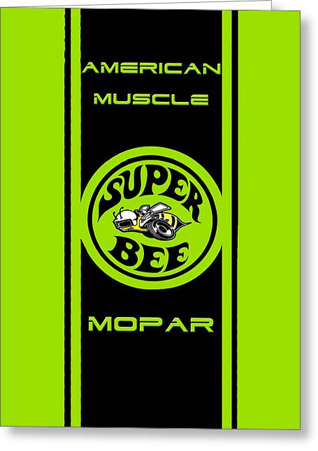 American Muscle - Mopar Greeting Card