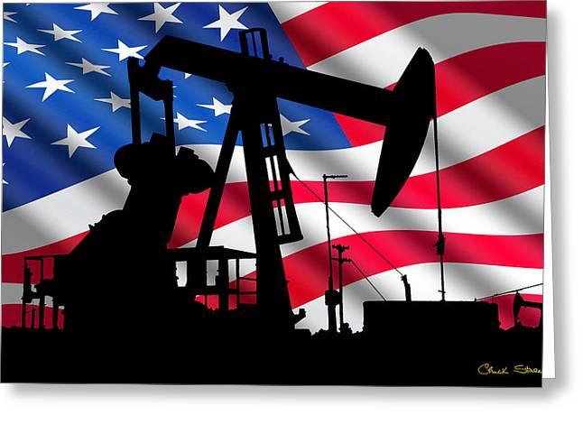 American Oil Greeting Card
