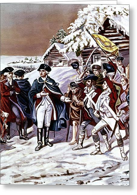 American Revolution 1777 Congress Greeting Card