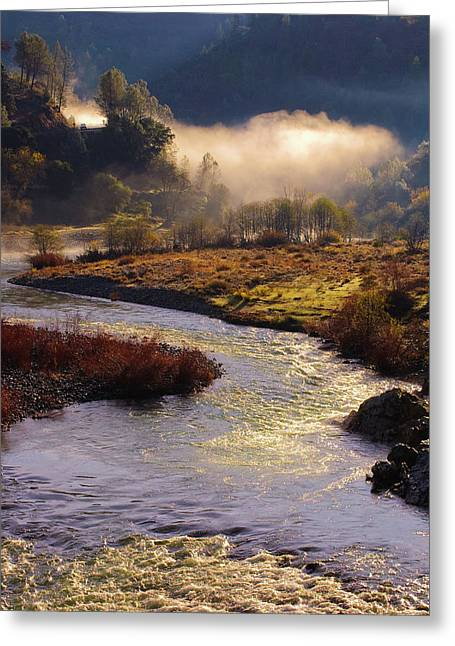 Greeting Card featuring the photograph American River Confluence by Sherri Meyer