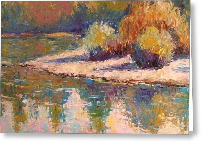 American River Gang Greeting Card by Eva Tanner-Klaas