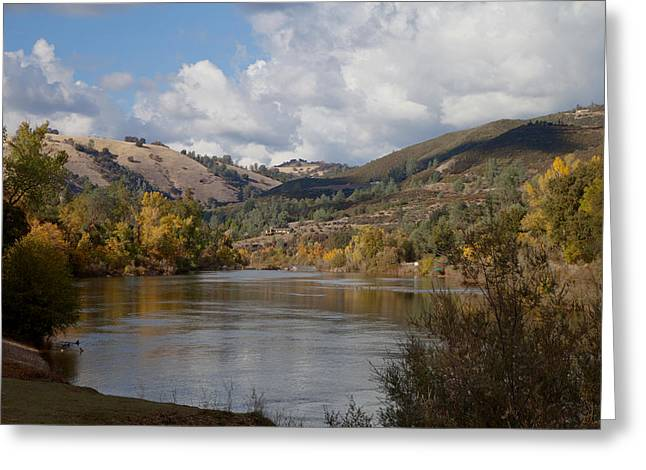American River Greeting Card