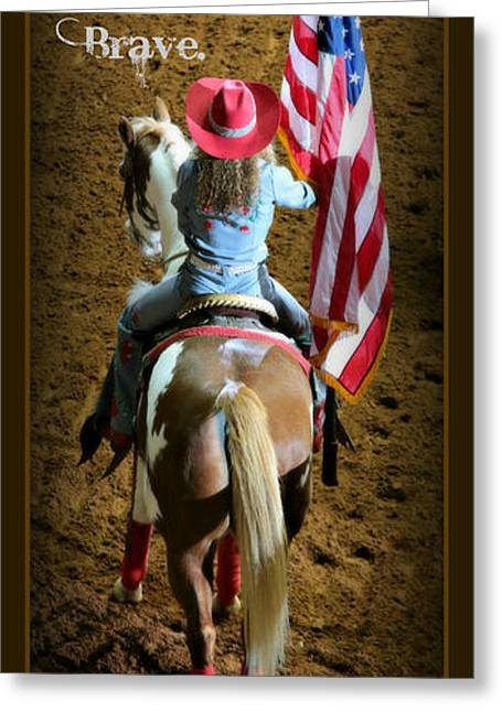 American Rodeo - Fort Worth Greeting Card by Stephen Stookey