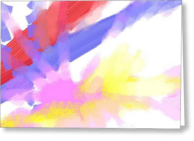 American Sunrise Greeting Card by George Pedro